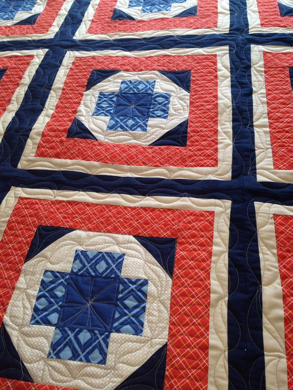 Custom Quilting by Jessica