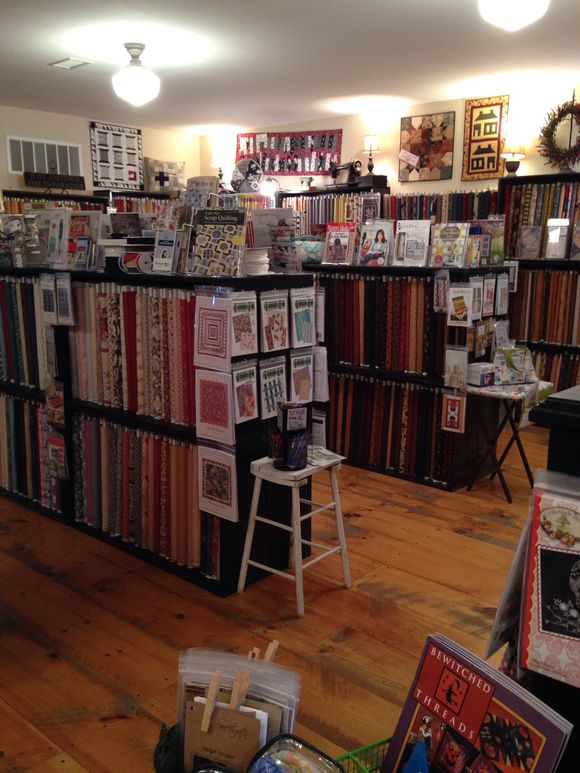 A glimpse at Sew Sweet Quilt Shop