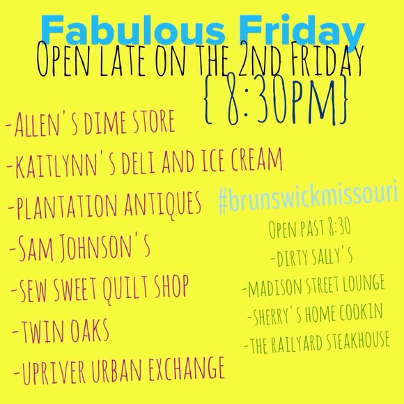 Late STORE HOURS!