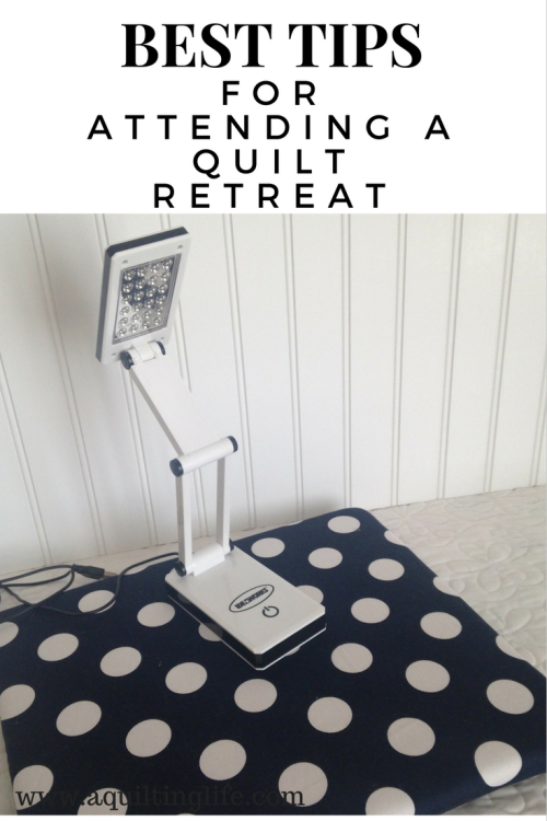 Best tips for quilt retreat
