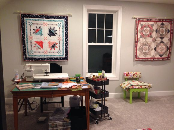 Sewing Studio and Wyatt Words