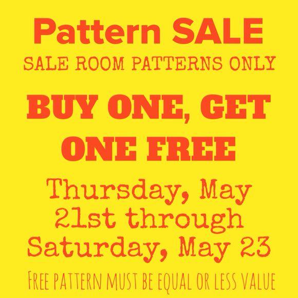 Pattern SALE!