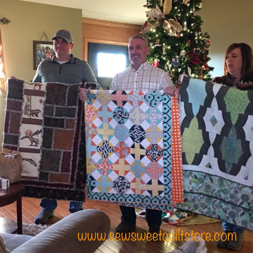 Jeanette xmas quilt